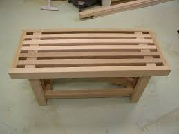Simple Wood Bench Instructions by Small Woodworking Projects Bench Table 8 Hours Can 115 00