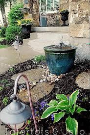 Water Fountain For Backyard - make a diy recirculating fountain