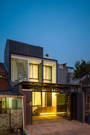 modern terrace house design contemporary double storey terrace