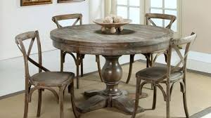 distressed round dining table distressed round dining table brilliant iron wood within 24 designs