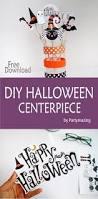 halloween centerpiece u2013 free printable u2013 partymazing