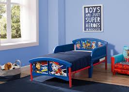 amazon com delta children plastic toddler bed nick jr paw