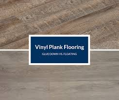 can you put cabinets on a floating vinyl floor glue vinyl flooring planks vs floating how to choose