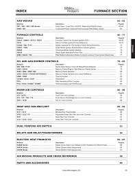white rodgers furnace controls catalog