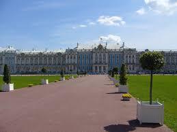 catherine palace pushkin on the map