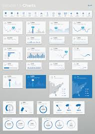 simple ui charts sketch by loudoundesignco themeforest