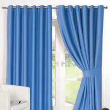 ring top fully lined pair eyelet ready made curtains luxury