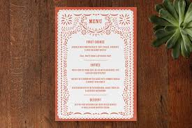 menu design for dinner party minted party decor review thyme love