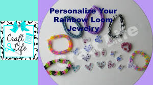Personalized Charms Craft Life How To Make Personalized Charms For Rainbow Loom