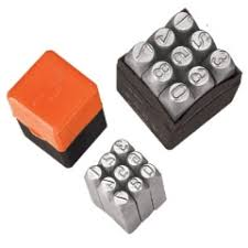 number and letter punches isl