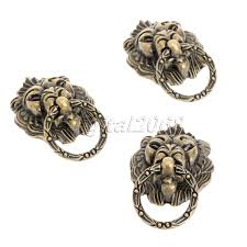 antique bronze lion hot new 6pcs antique bronze lion cabinet handles drawer pulls