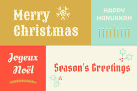 60 different ways to say happy holidays in your next animoto