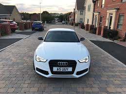 audi a5 s line quattro black edition reg 2011 2 0 diesel manual