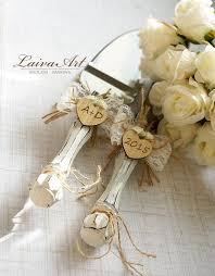 wedding cake servers rustic wedding cake server set knife cake cutting set wedding