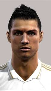 pes 2013 hairstyle ronaldo face for pro evolution soccer 2012 pro evolution soccer