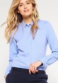 s blouses on sale s oliver shirt blue melange sale clothing blouses tunics
