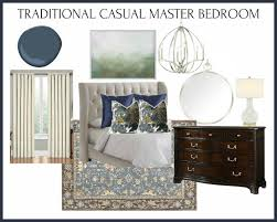 traditional casual bedroom design