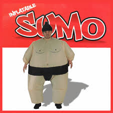 Sumo Wrestling Halloween Costumes Sumo Wrestler Fancy Dress Ebay