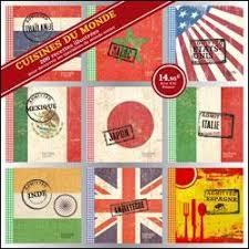 livre cuisine du monde coffret 9 mini livres cuisine du monde coffret collectif achat