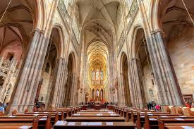 Cathedral Interior Spired Miracle Of Prague St Vitus Cathedral Hidden Secrets