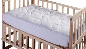 Mattress Toppers For Cribs by Cotton Loft All Natural Down Alternative 100 Cotton Filled Crib