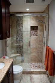 Walk In Shower Designs For Small Bathrooms by Steps To Remodel Bathroom Decorating Ideas On A Budget Pinterest