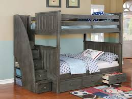 Free Loft Bed Plans Queen by Bunk Beds Twin Over Full Bunk Bed With Stairs Wayfair Bunk Bed