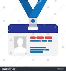 flat design name tag badge template stock vector 424646878