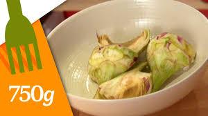 comment cuisiner les artichauts violets comment tourner un artichaut primeur 750 grammes