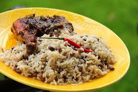 pigeon cuisine pigeon peas rice vegetarian caribbeanpot com