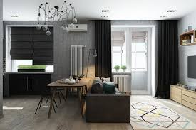 Design Living Room Small Home Designs Under 50 Square Meters