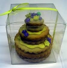 3 tier mini hand dec cookie cake