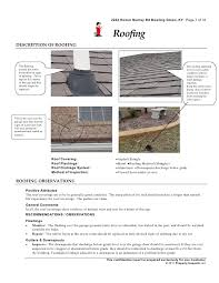 roof inspection report template roof inspection template chief inspection services certified