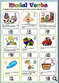 verbs worksheet