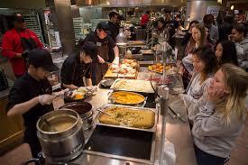 thanksgiving dinner west bu today boston