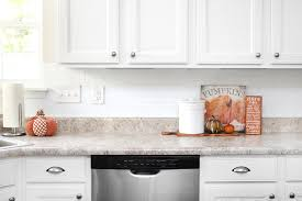 Fall Kitchen Decor - fall house tour 2016 the kitchen how to nest for less