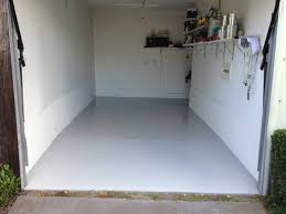 Paint Garage Floor Painting Concrete Floors Before After Effortless Painting