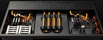 Custom Pc Desk Case Red Harbinger Cross Desk Google Search Pc Build Pinterest Tech