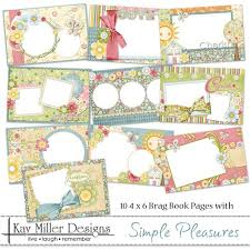 4x6 brag book 254 best 1 scrap happy miller designs images on