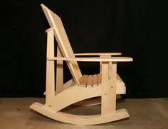 Rocking Chair Conversion Kit Adirondack Rocking Chair Retrofit Kit Plans By Thebarleyharvest