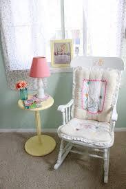Pink Nursery Rocking Chair S Sweet Vintage Nursery Project Nursery Rocking Chairs