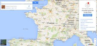 Maps France by Google France Map