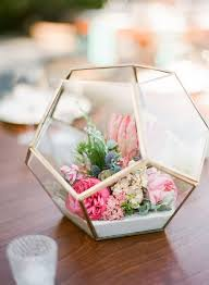 diy wedding centerpieces 50 glam geometric terrarium wedding ideas terrarium wedding
