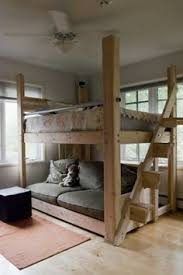 Woodworking Plans For Bunk Beds by Queen Size Loft Bed Woodworking Projects U0026 Plans Bedroom