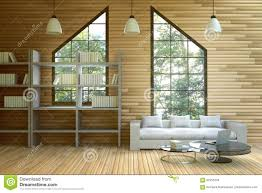 living room styles 3d rendering illustration of wooden house interior living room