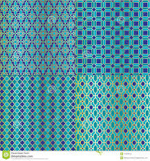 Moroccan Tile by Moroccan Tile Patterns Stock Vector Image 41694915