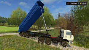Seeking Trailer Fr Kamaz 65116 Trailer Schmitz For Fs17 Farming Simulator 17 Mod