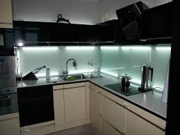 Back Painted Glass Kitchen Backsplash Tempered Glass In The Interior