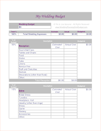 Budget Calculator Excel Spreadsheet 8 Wedding Budget Calculator Procedure Template Sample