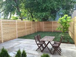 horizontal cedar fence panels home u0026 gardens geek